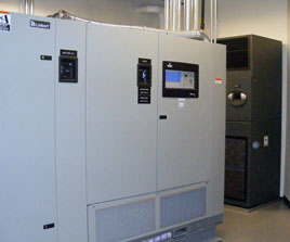 Data center design and construction project electronic for Buro 600 6ft ups