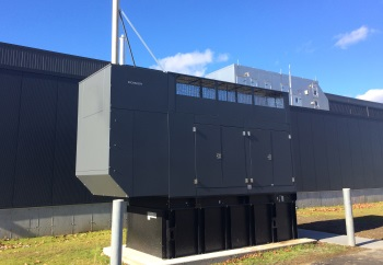 Emergency standby power generators
